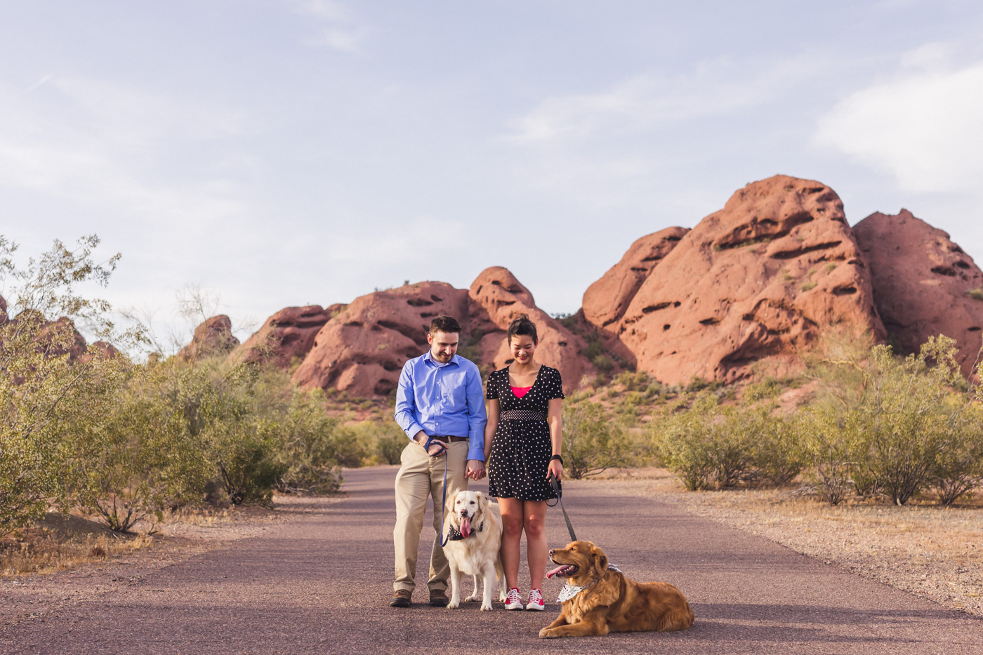 engagement-session-papago-park-dogs