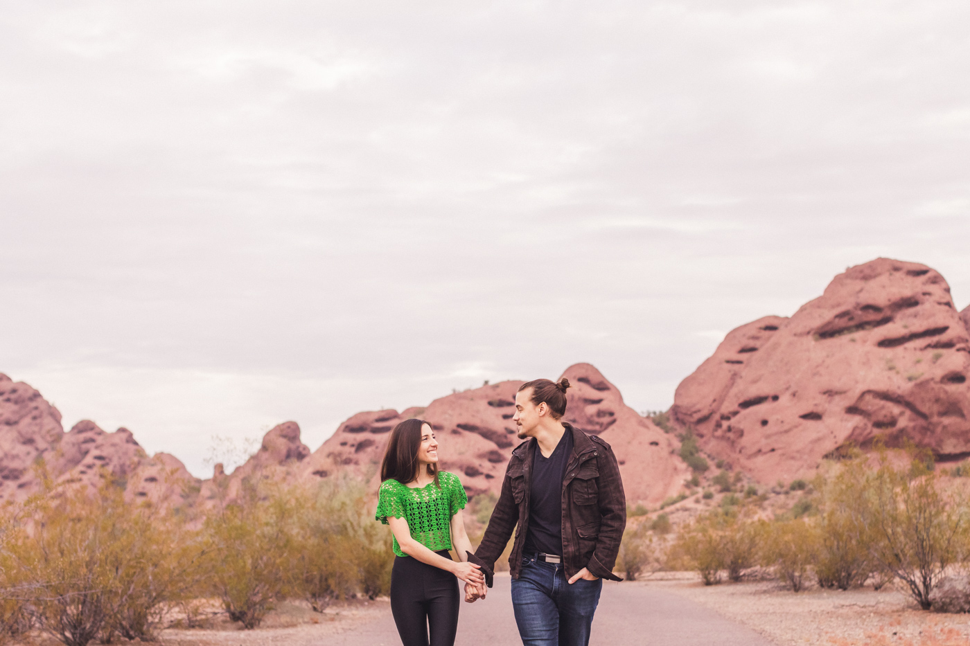 papago-park-engagement-session