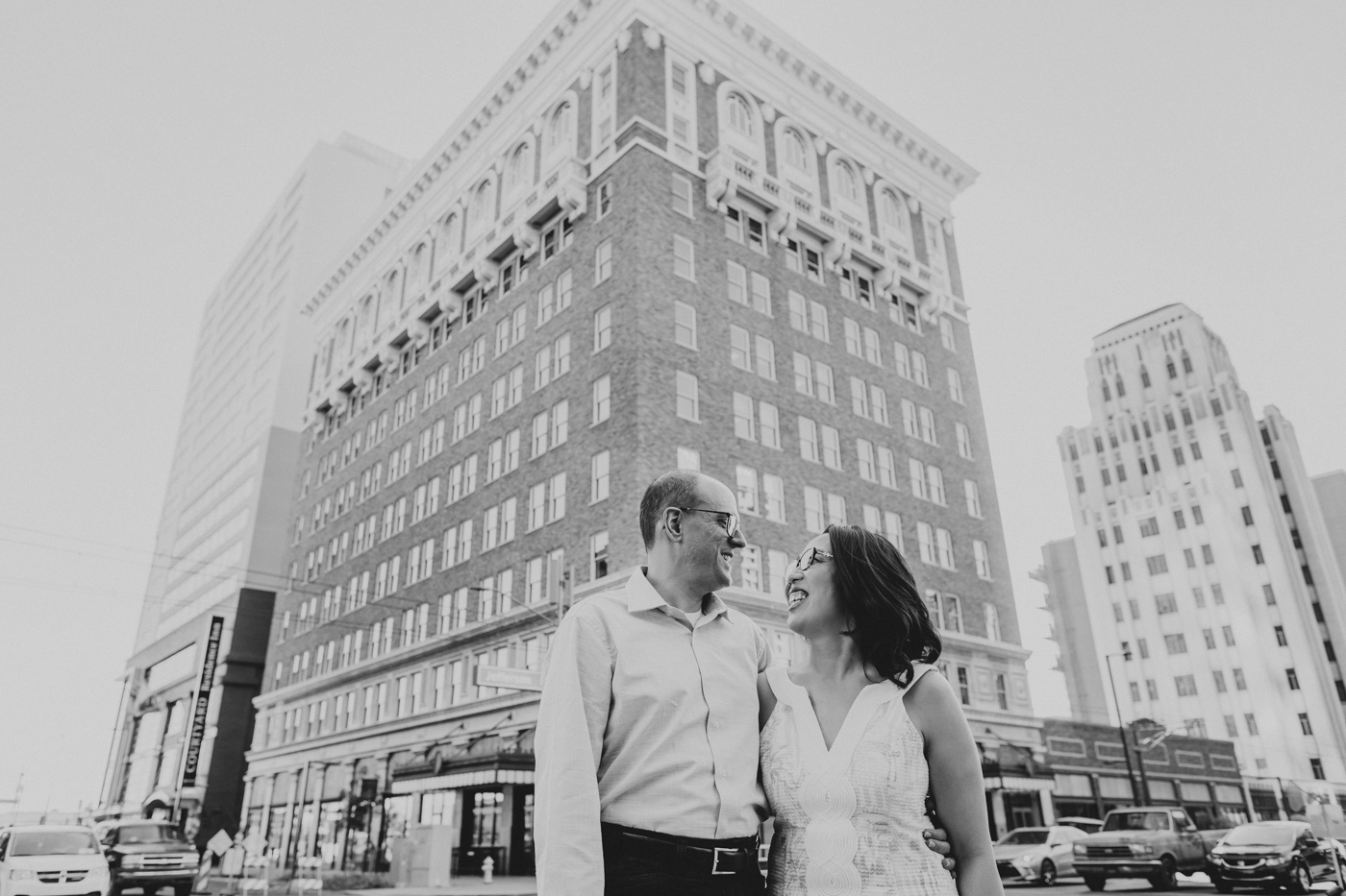 luhrs-building-engagement-session-black-and-white