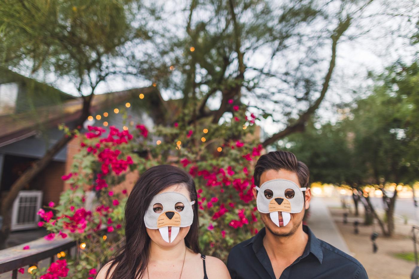 mask-engagement-photo-aaron-kes-photography