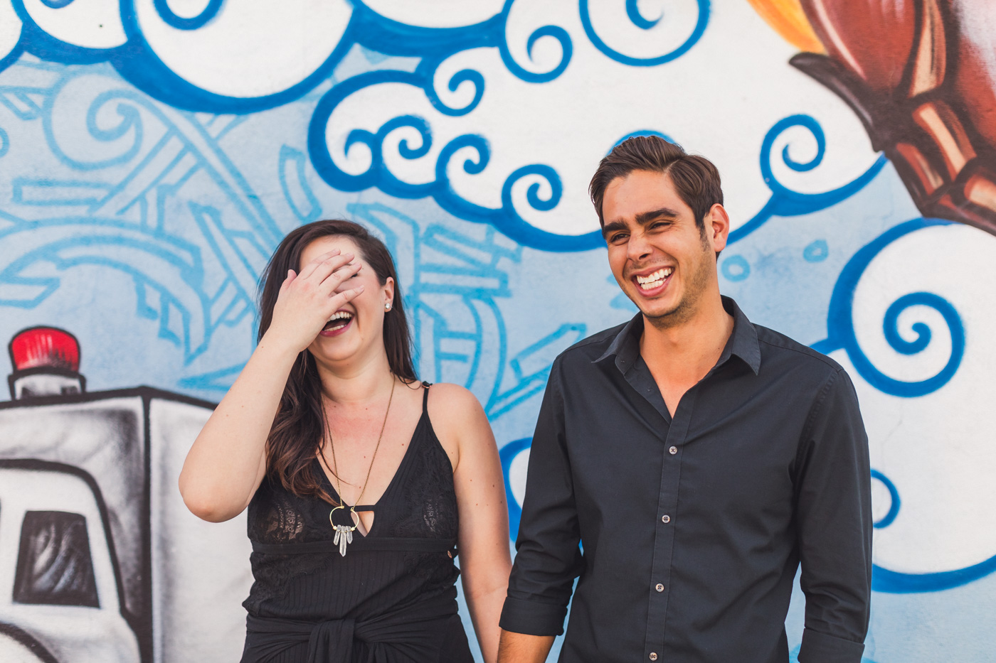 laughing-engagement-photos