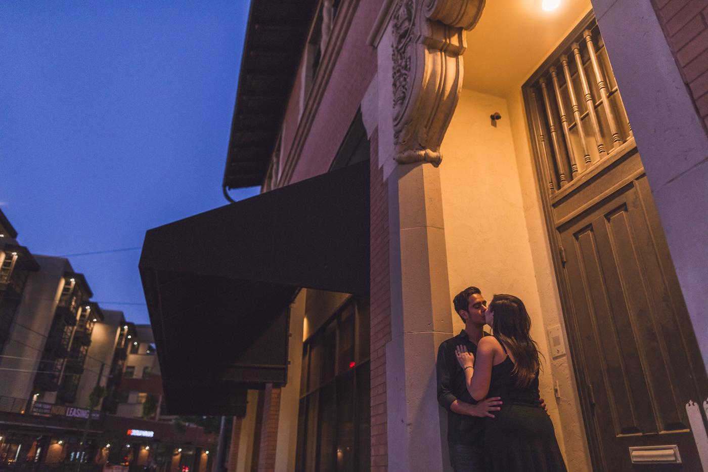 nighttime-engagement-photography