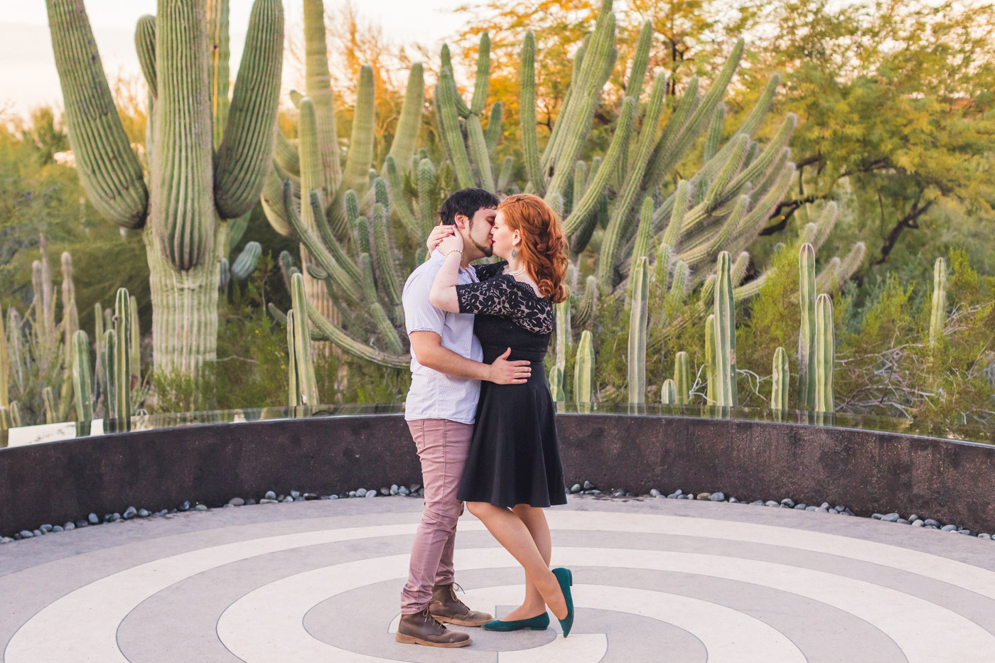 sexy-almost-kiss-engagement-picture