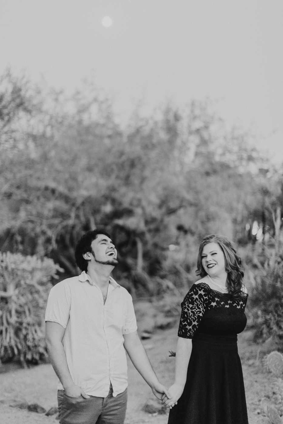 black-and-white-engagement-session-photography