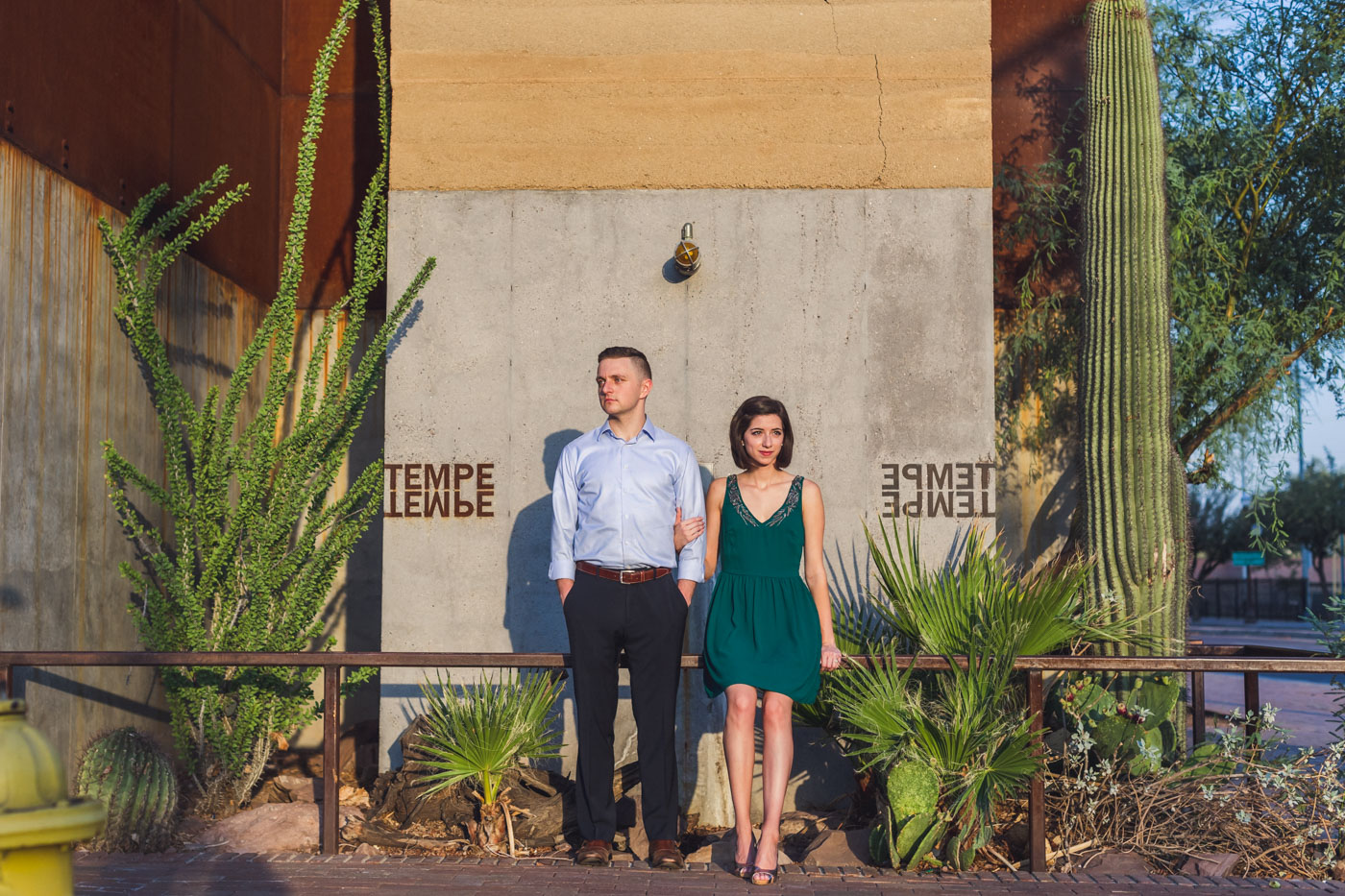 mill-avenue-tempe-engagement-session