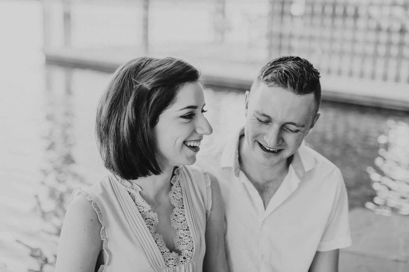 black-and-white-candid-engagement-photography