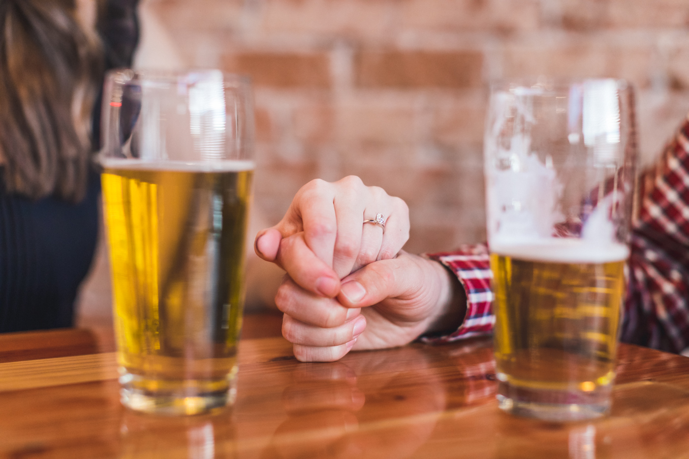 beer-date-engagement-session