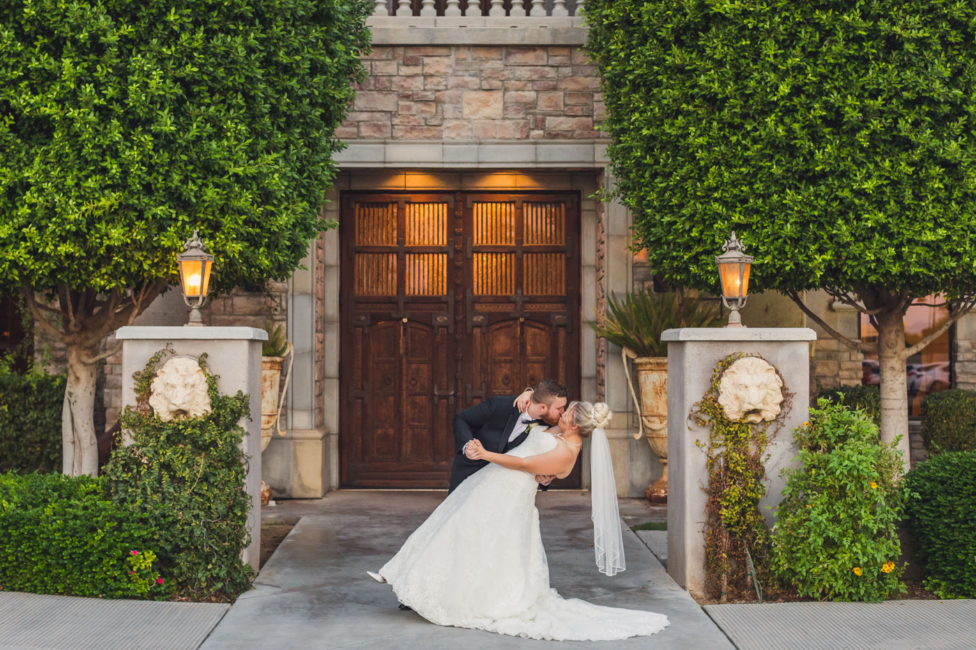 bride-getting-dipped-the-ashley-castle