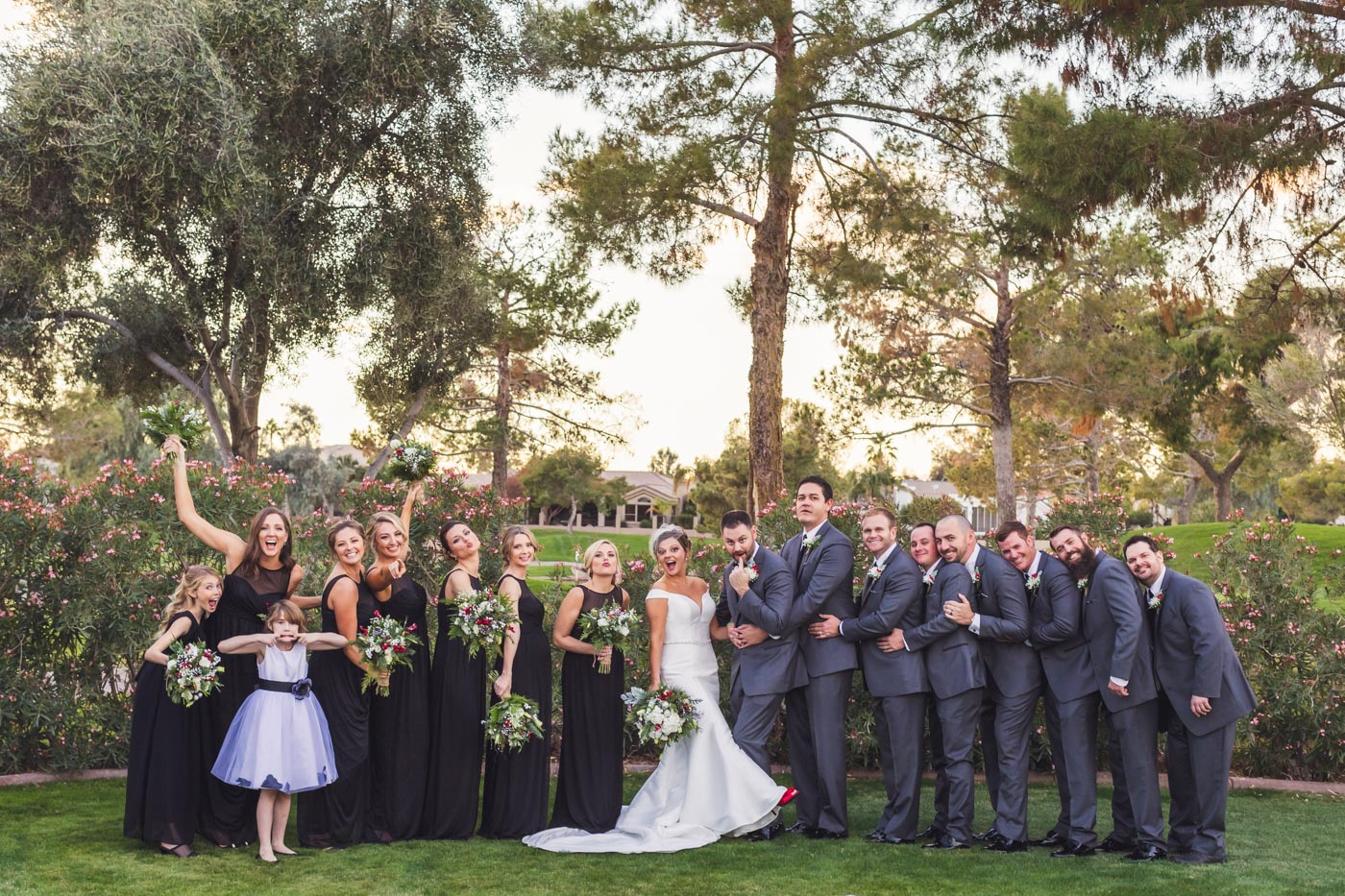 wedding-party-having-fun-portrait