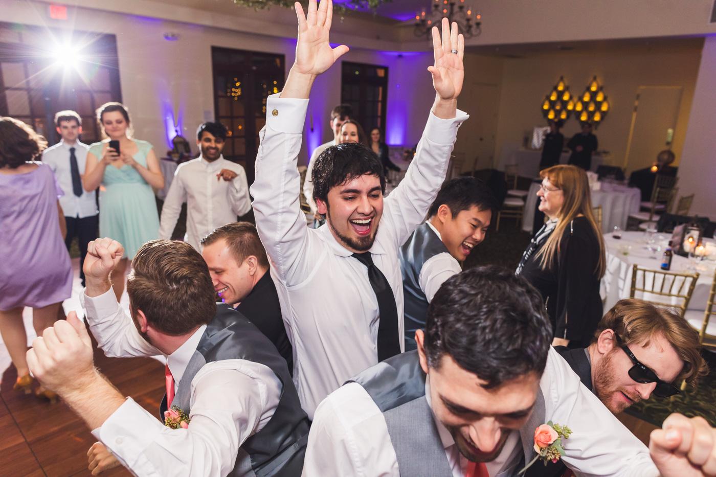 happy-groom-at-wedding-reception