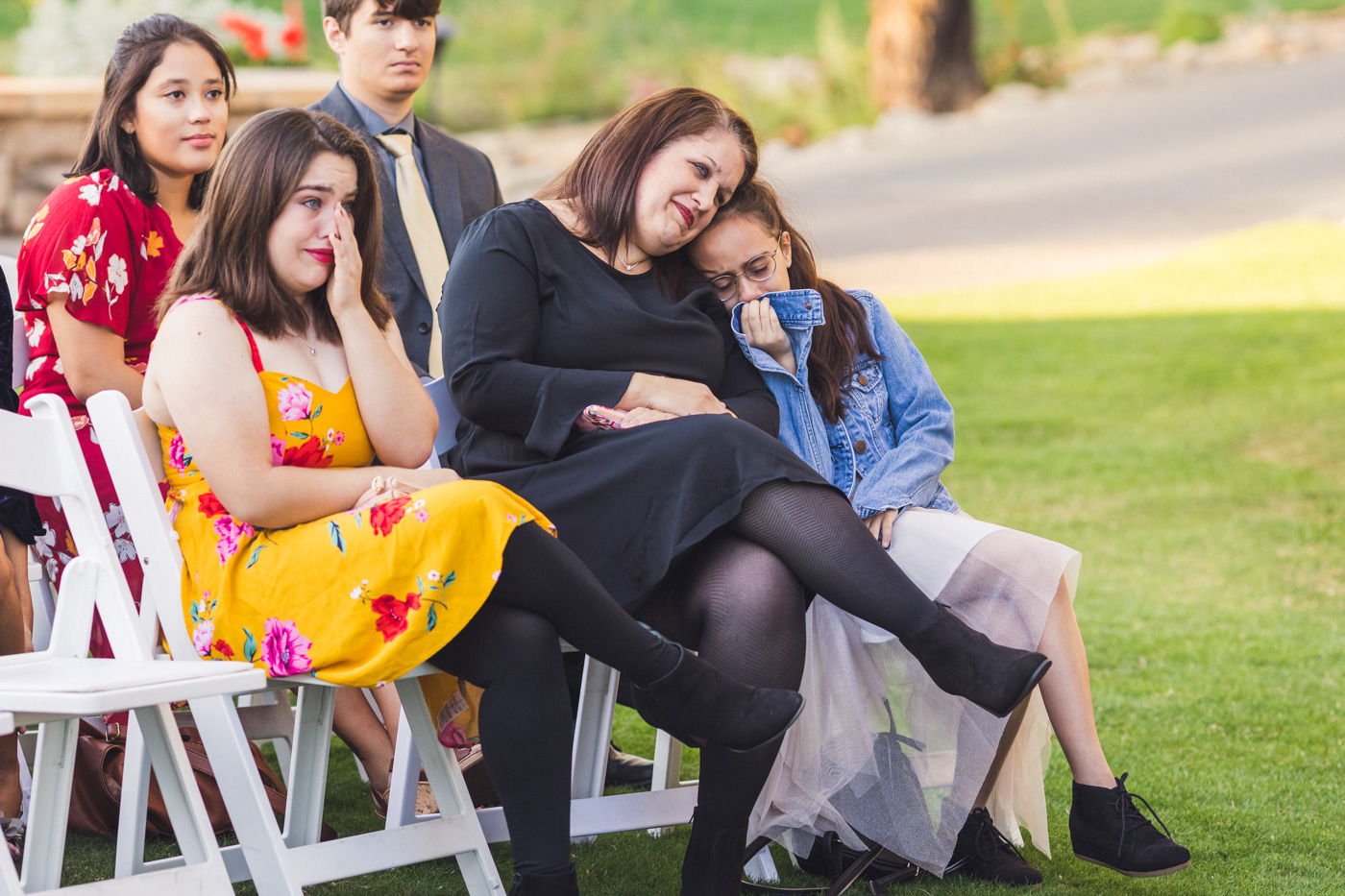 guests-getting-teary-at-wedding-ceremony