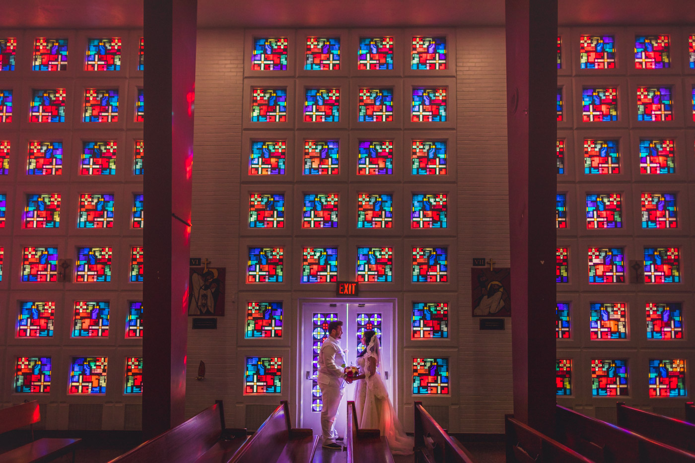 stunning-stained-glass-wedding-portrait