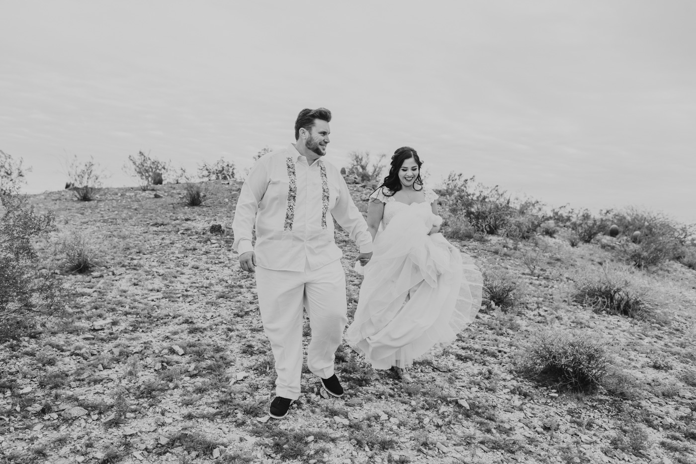 candid-black-and-white-wedding-portrait