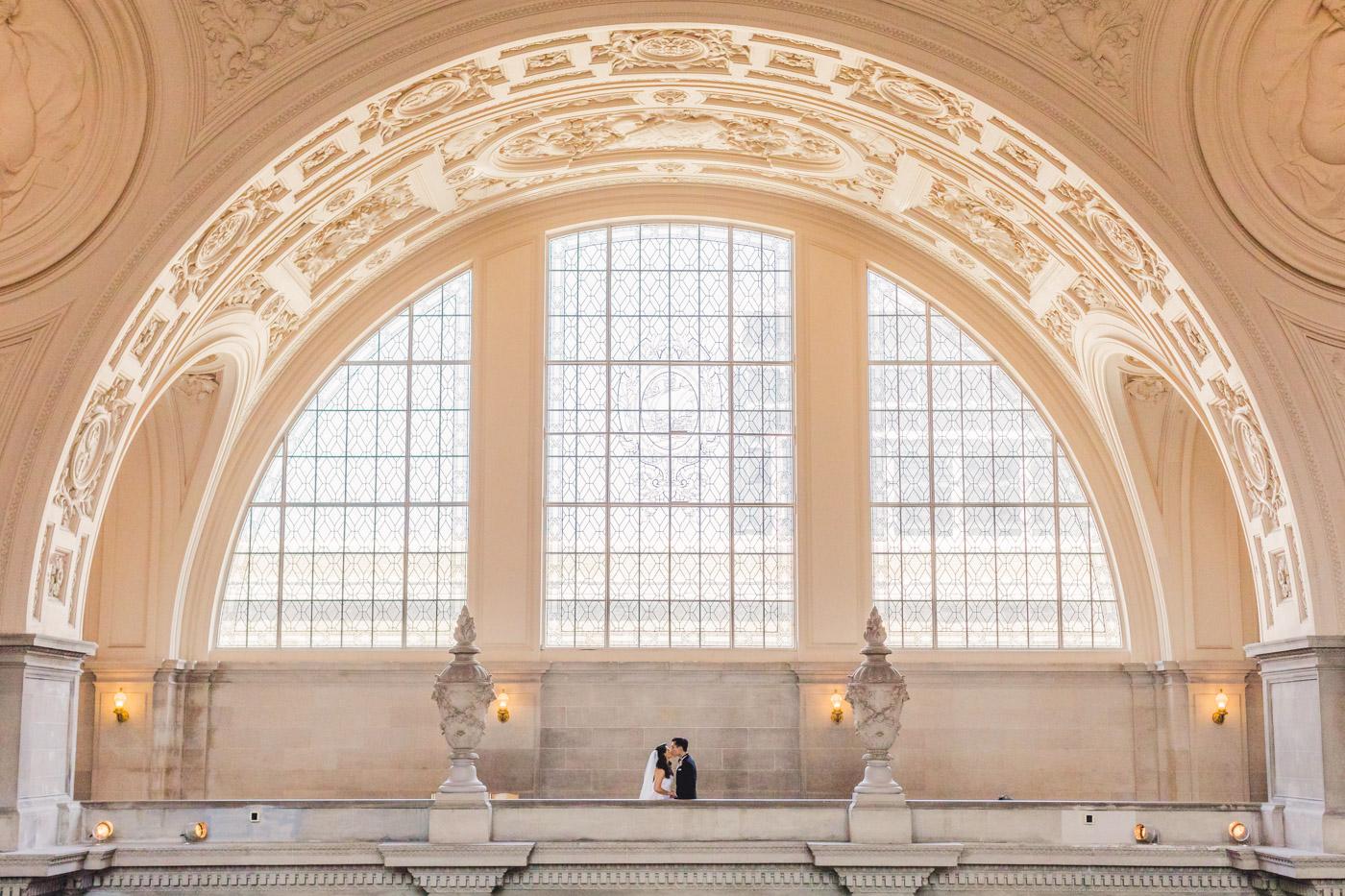 sf-city-hall-gallery-wedding-portrait