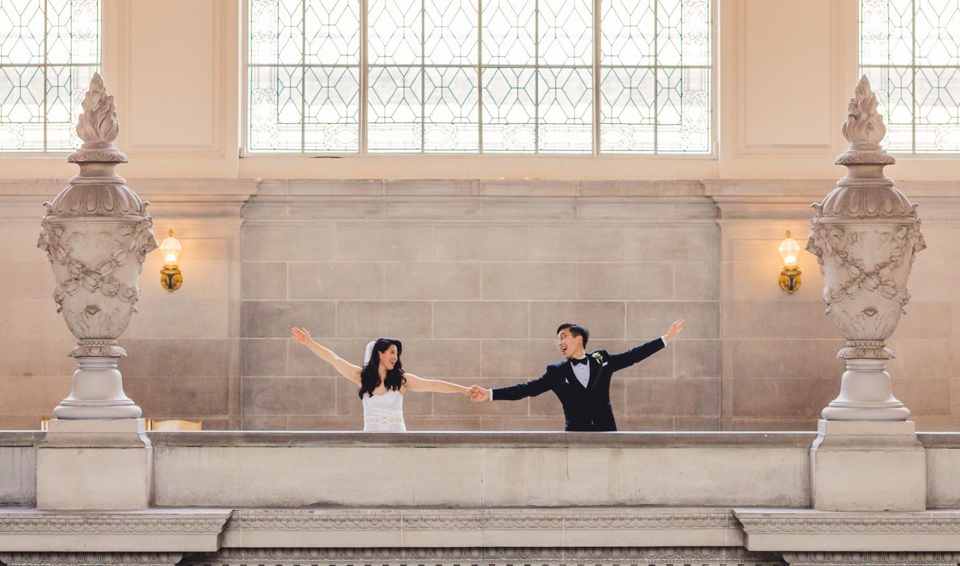 fun-san-francisco-city-hall-wedding-photo