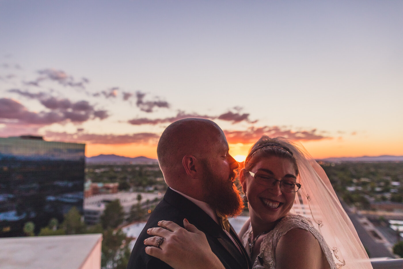 bride-and-groom-at-sunset