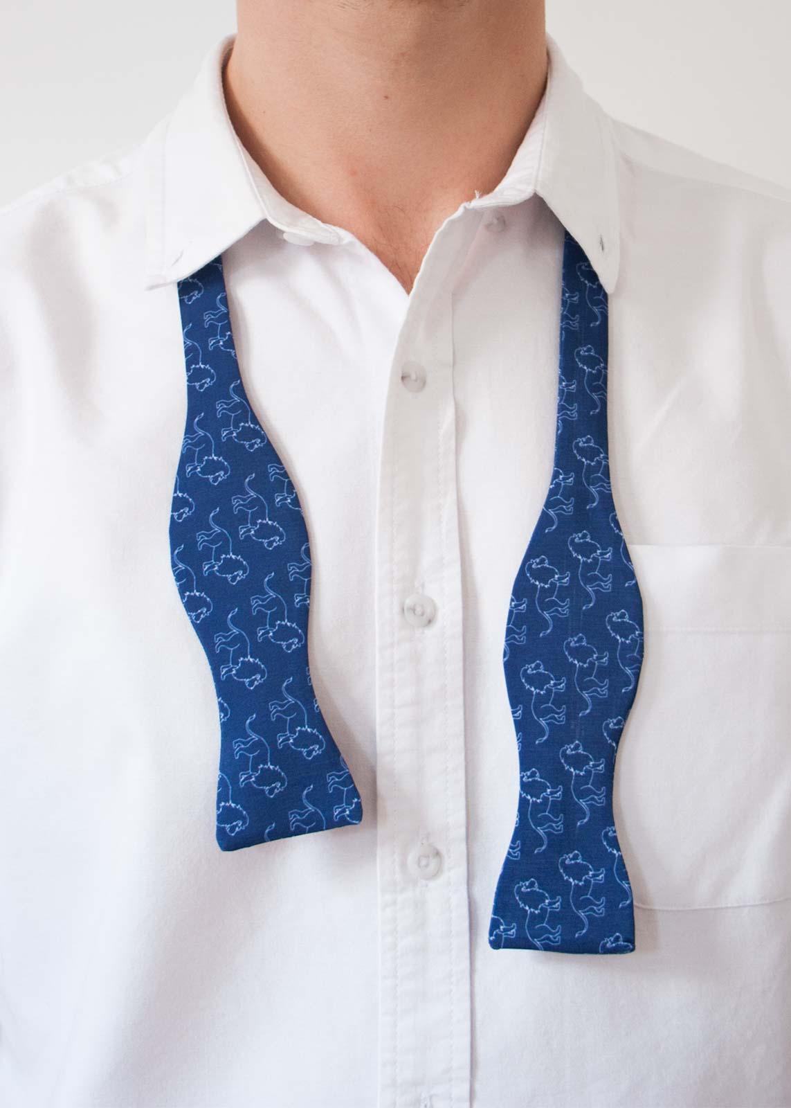 Custom printed fabric.  Semi Butterfly shape.