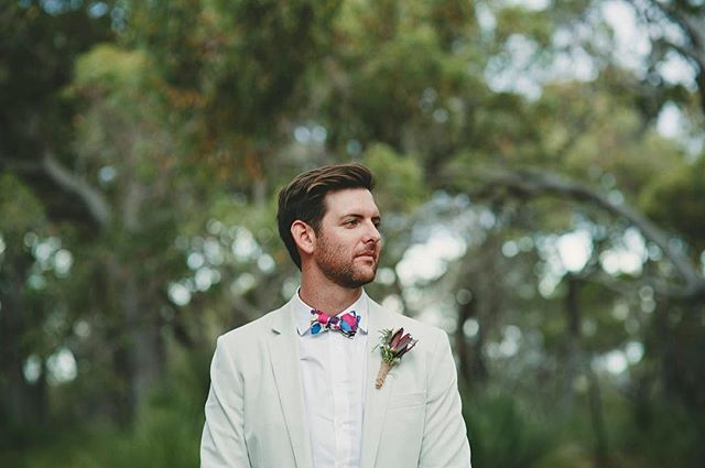 Tied his own tie before he tied the knot. Legend. One of about a million awesome shots by @lifephotographybymaz at the wedding of Terri & Rhys down south a couple weeks ago. Other wedding magic provided by @polkadotbride 👌🏼 #thelookaway #freelancebowties #blessyourneck # #perthfashion #mensstyle #mensfashion #blessyourneck #bowtie #bowties