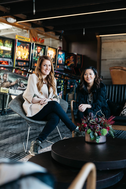 sfHEIMAT co-founders and interior designers Eva Bradley and Alicia Cheung Lichtenstein.