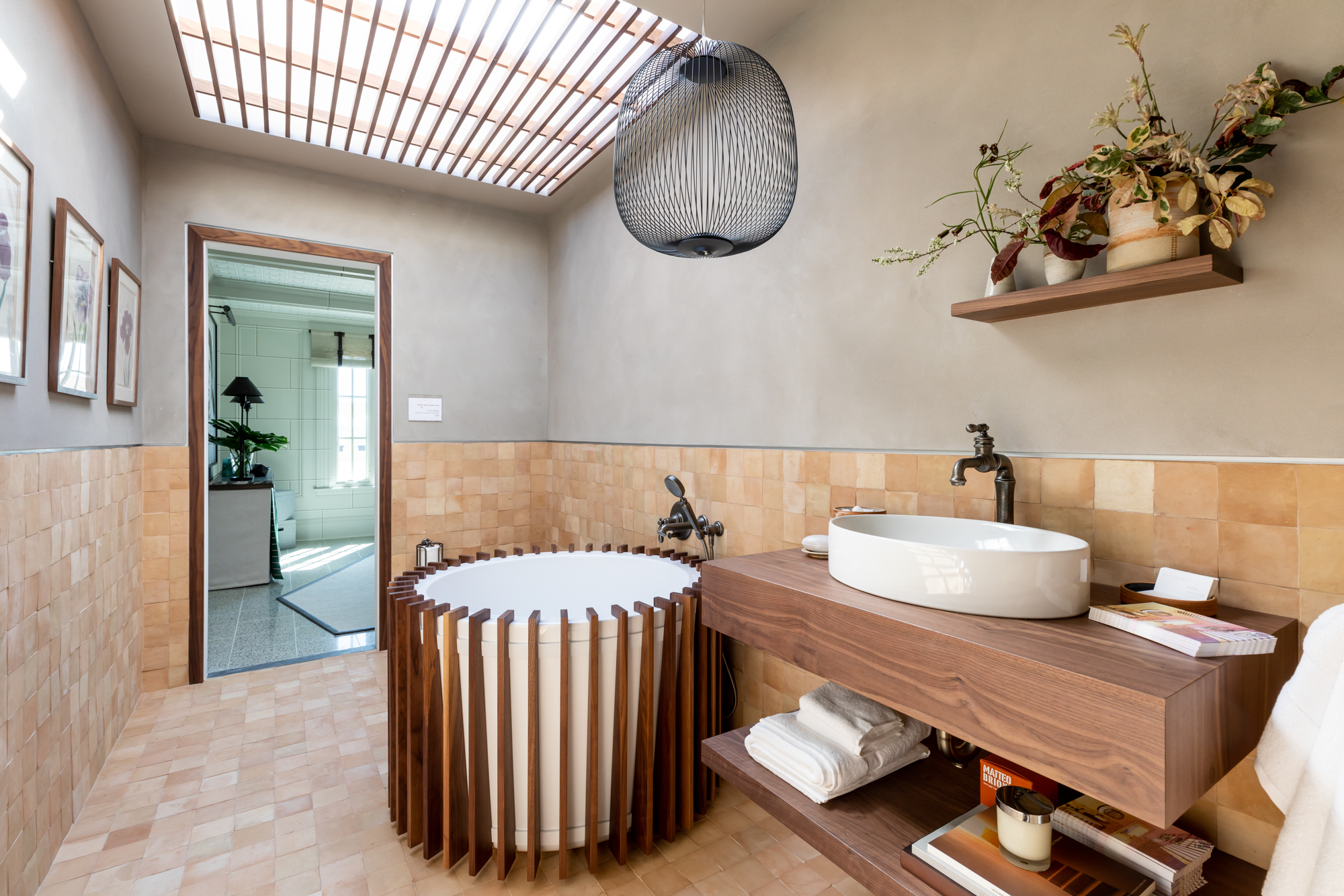 """Wabi Sabi Soak Room"" by Clara Bulfoni of  Geddes Ulinskas Architects ."