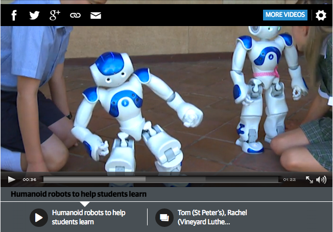 humanoid robots to help students learn
