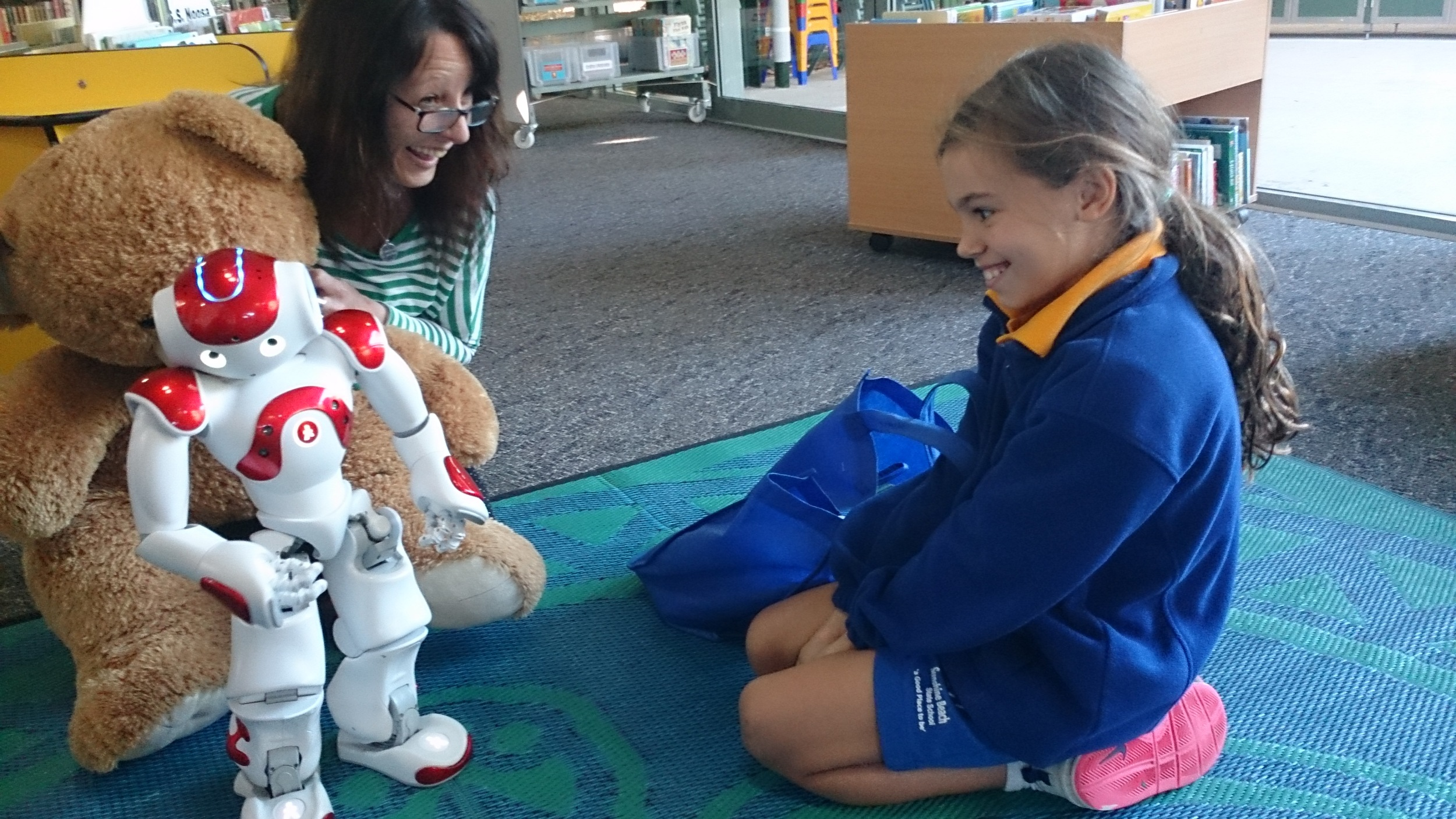 NAO robot at Noosa Library