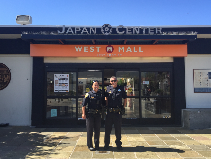 Northern Station beat officers bond with community in SF's Japantown - Mission Local October 2017