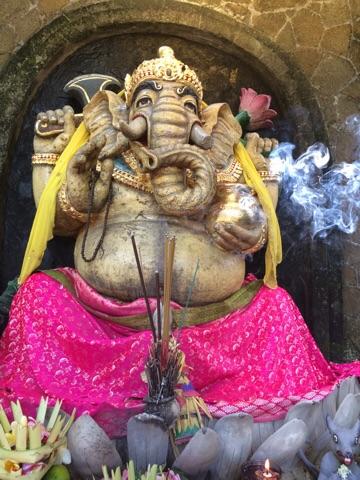 Ganesha shrine at Balibbu hostel