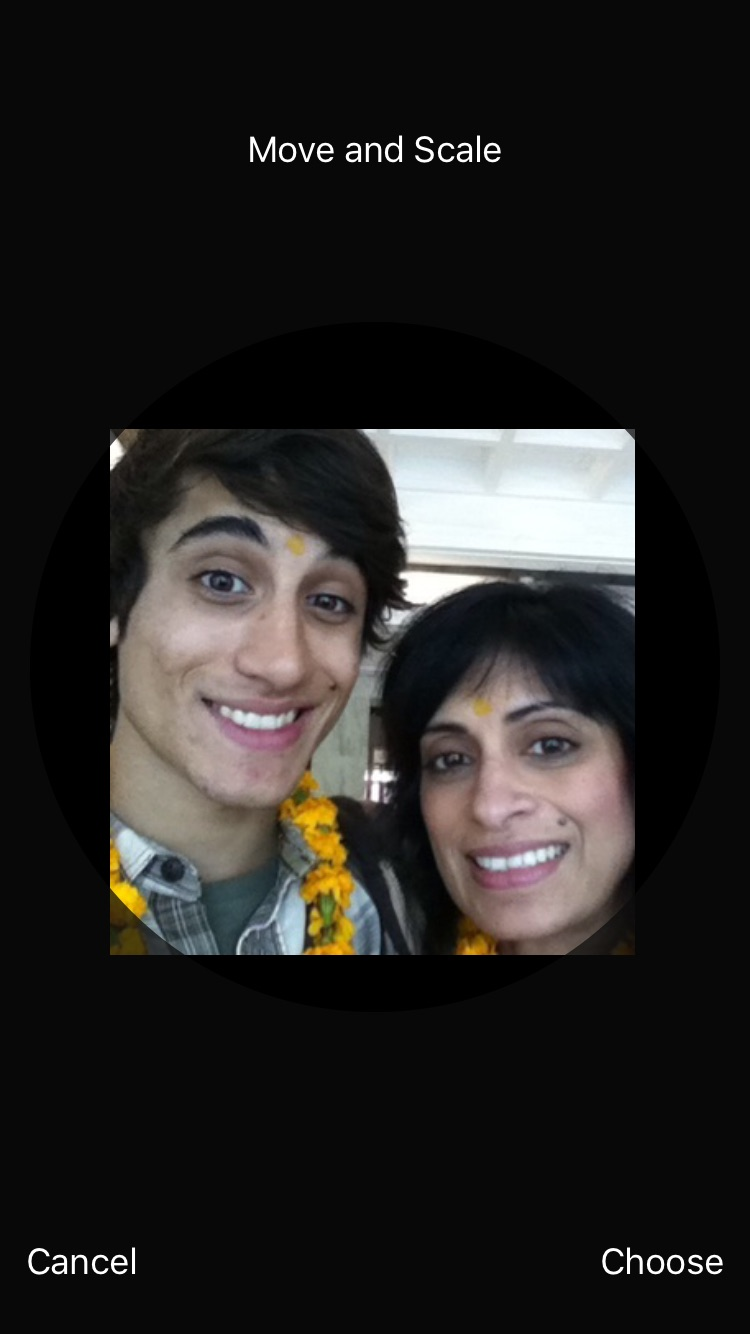 6 years ago with momma in India!