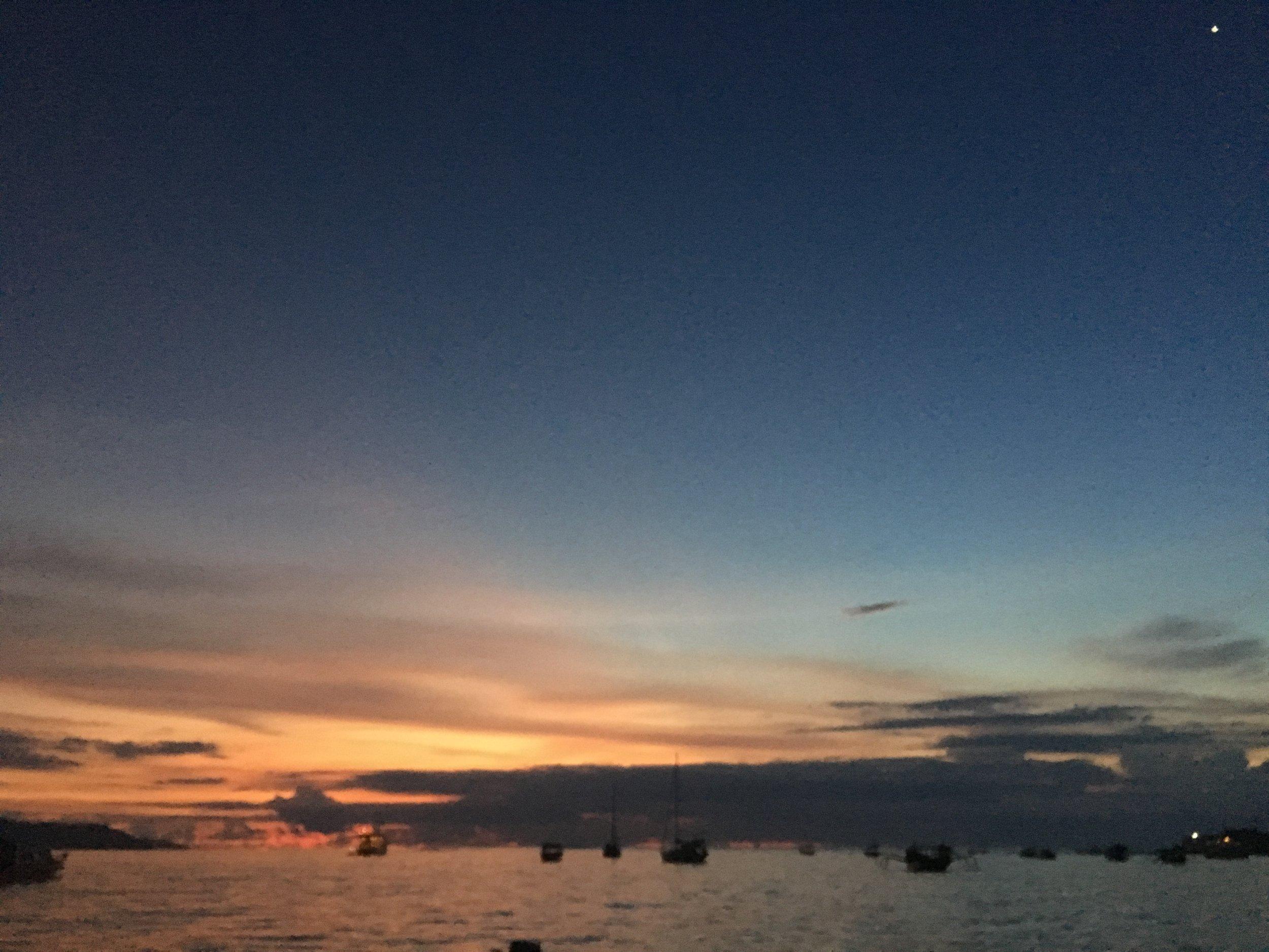 Sunset on Gili Air, Lombok