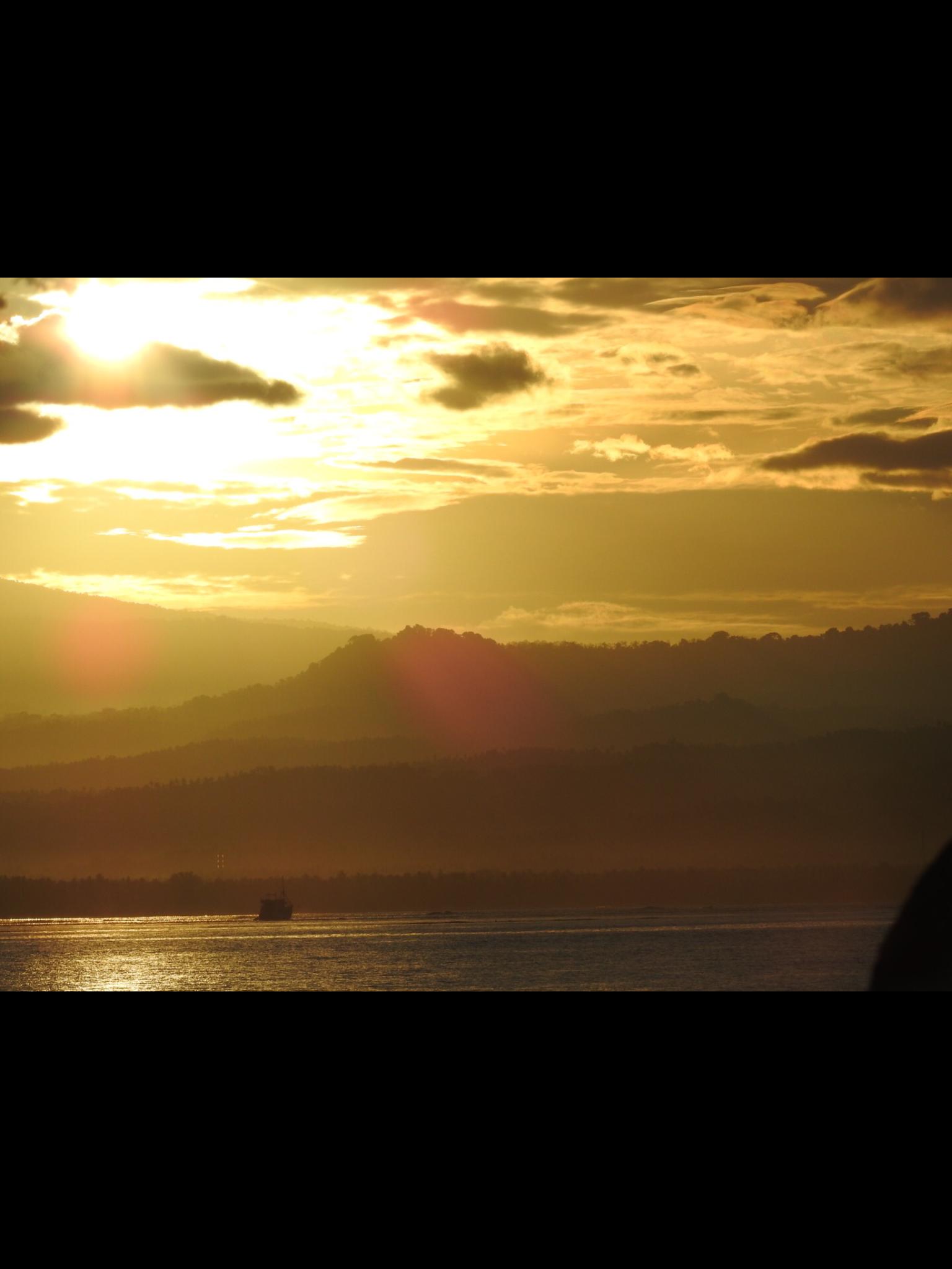 Sunrise on Gili Meno, Lombok