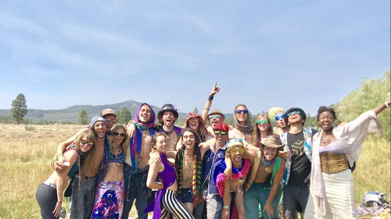 LOVEtriBE, Oregon Eclipse, August 2017, Feat. Matt Lackey's Essence