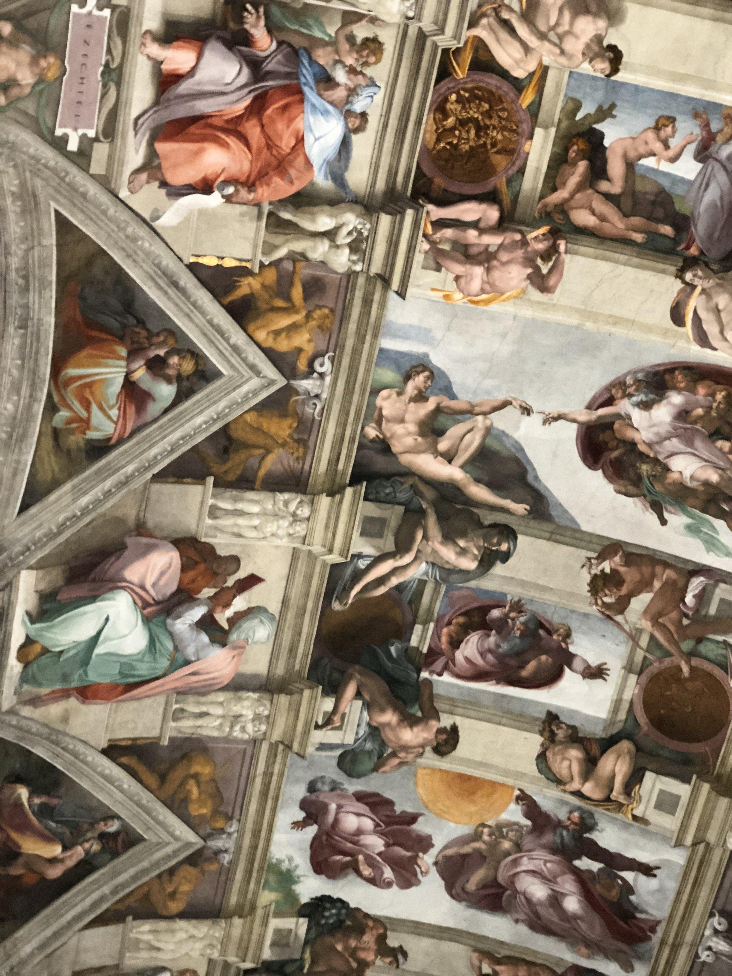 Sistine Chapel, 2017 Rome, Italy.