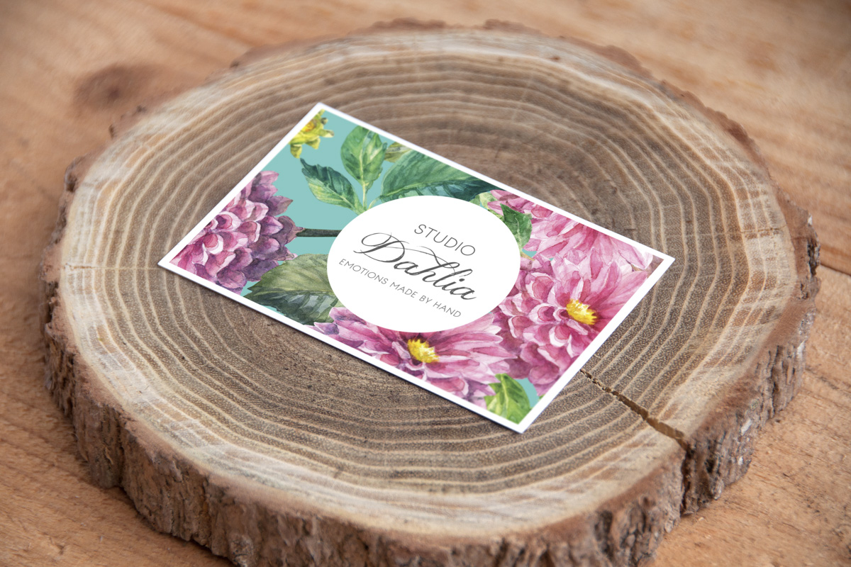Visioning & Branding Design for  Studio Dahlia, a handmade arts & crafts and styling business.