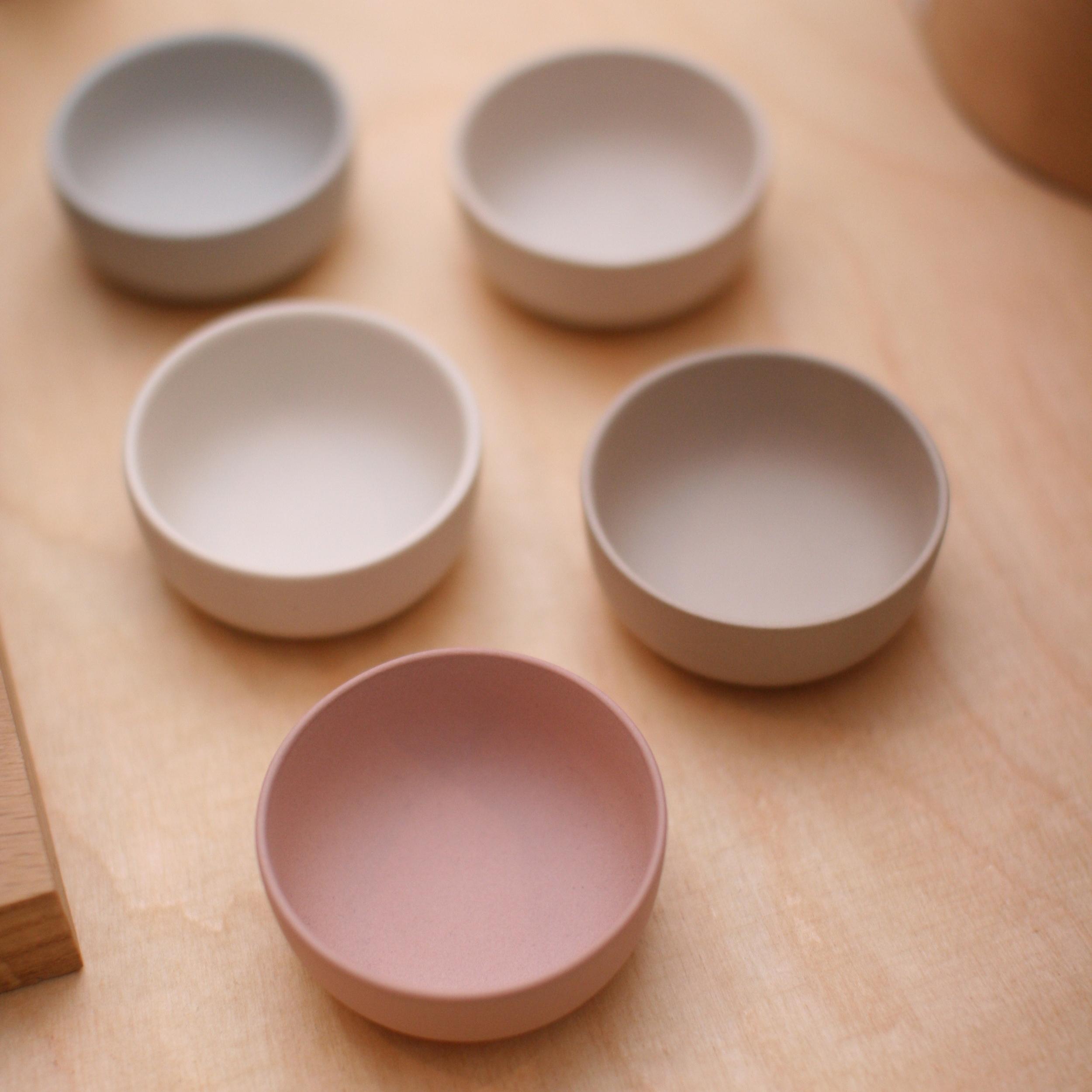 Limited Edition Pinch Pots by local ceramicist, Sue Pryke.