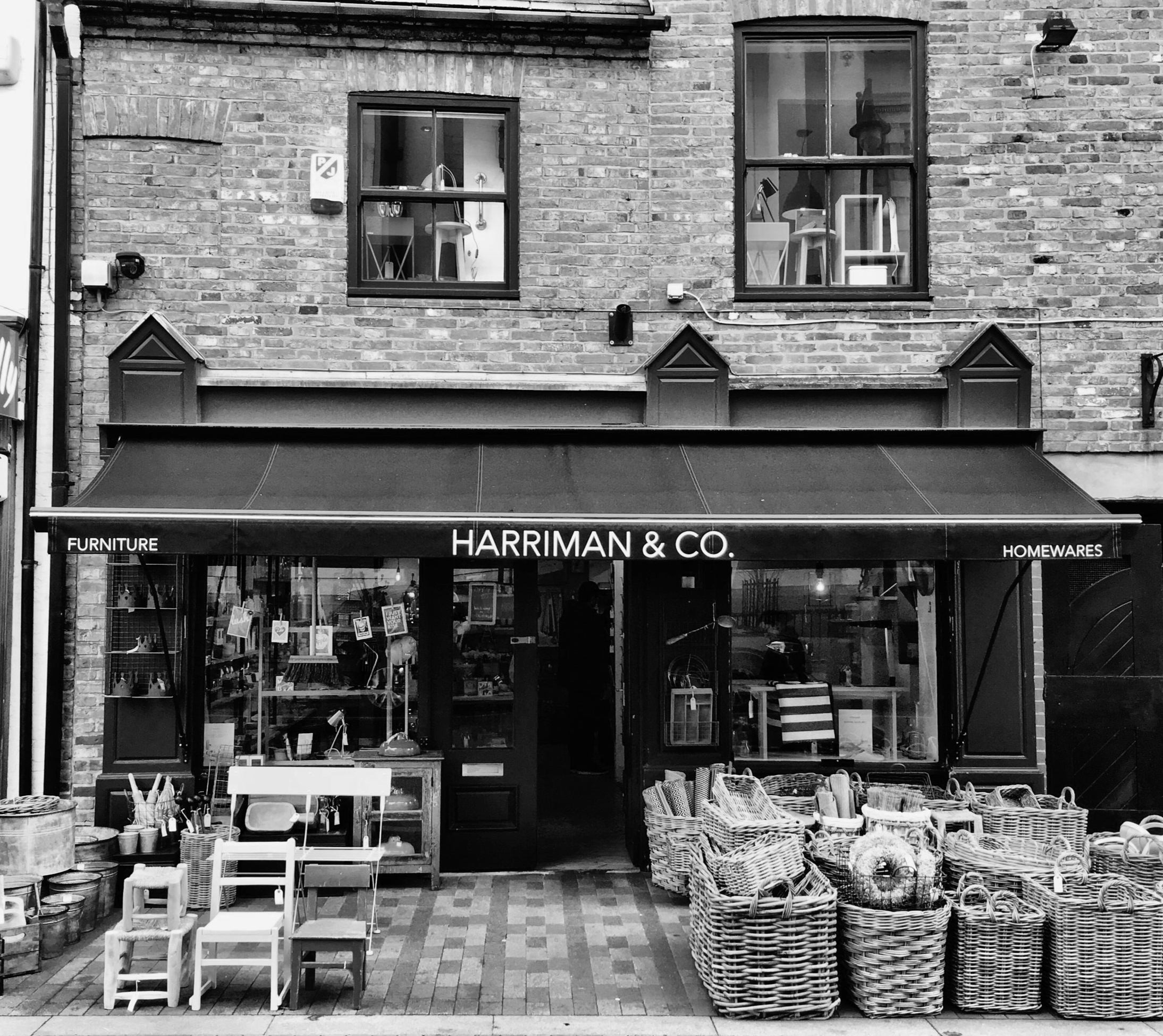 Shop front at 11 St. Martins Leicester