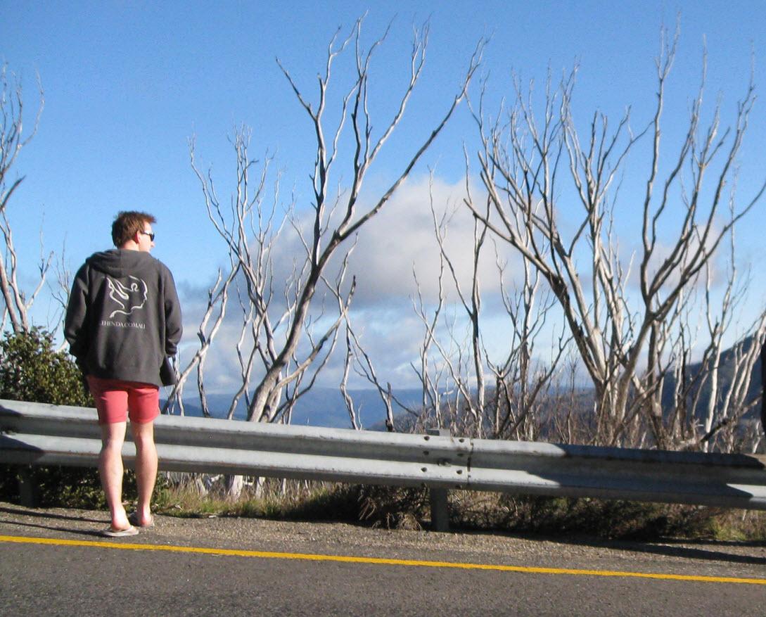 Alec at Mt Hotham!