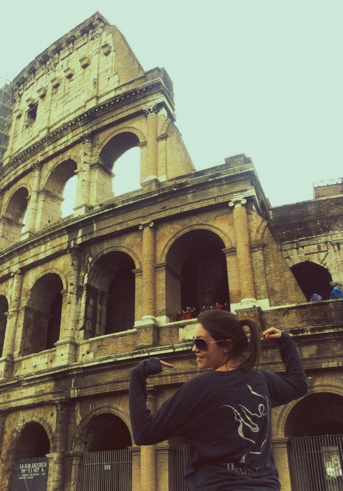 Stephanie in Rome!