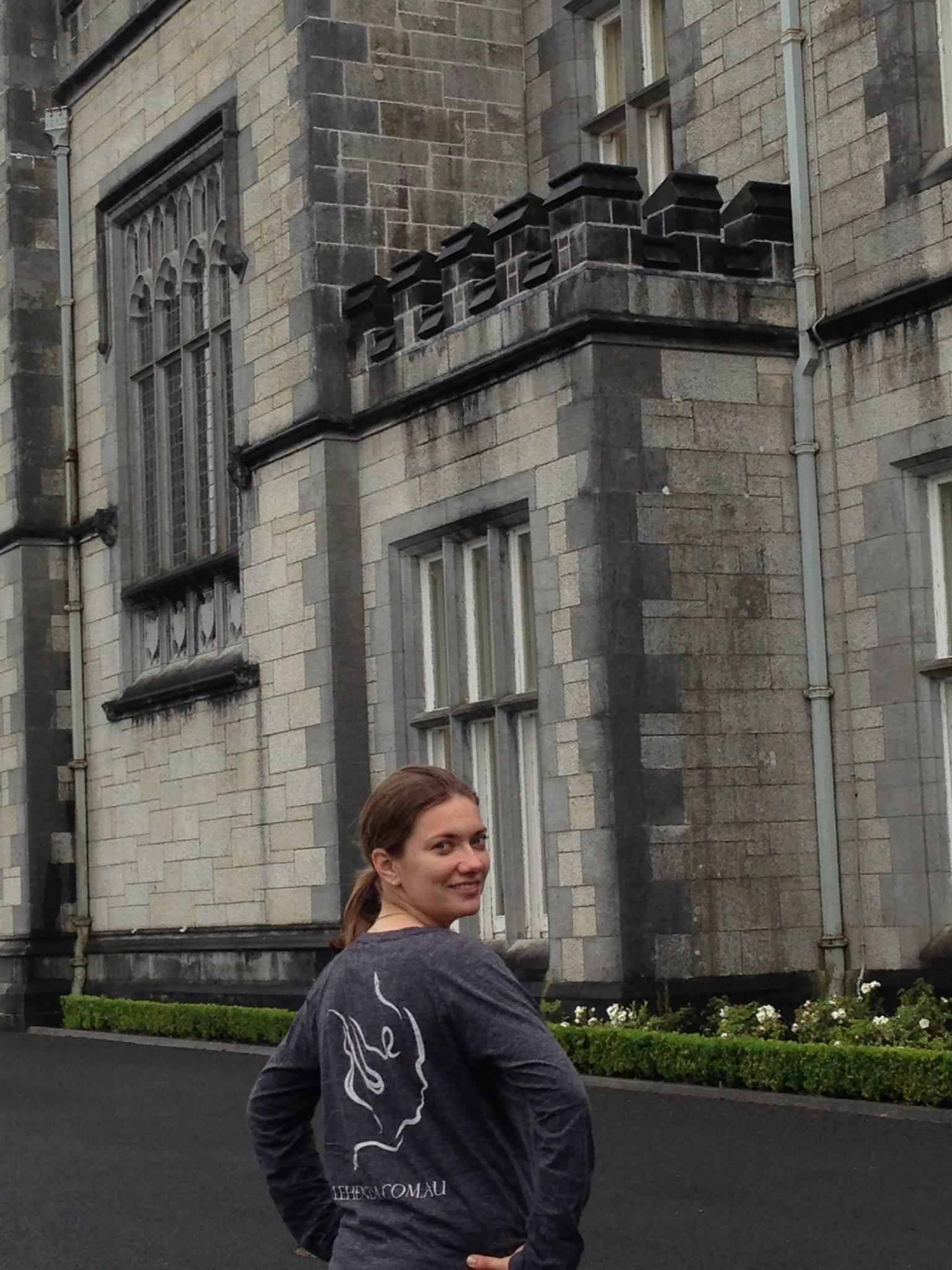 Anna at the Kylemore, Connemara, Co. Galway, Ireland!