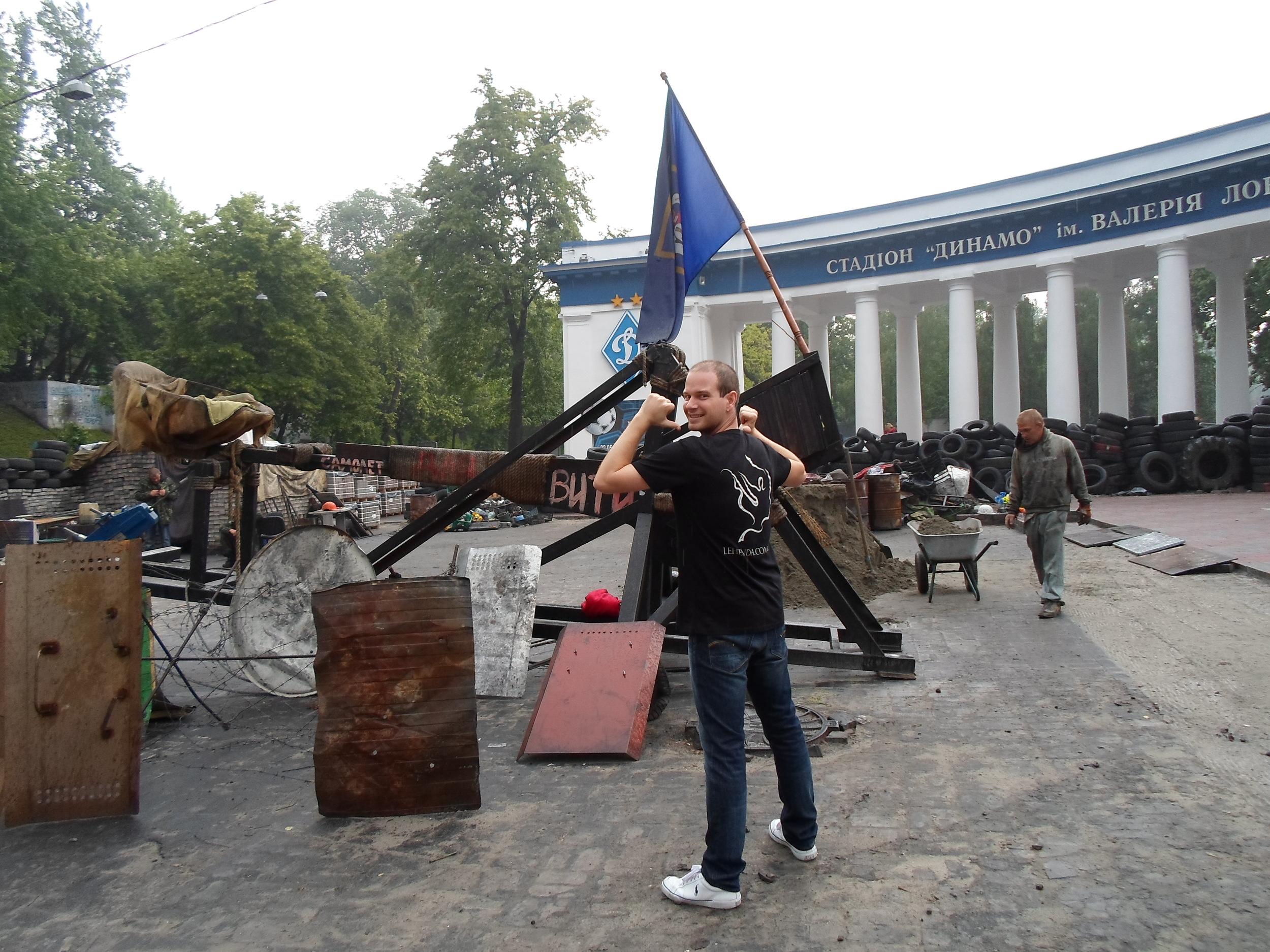 Anthony in Kyiv