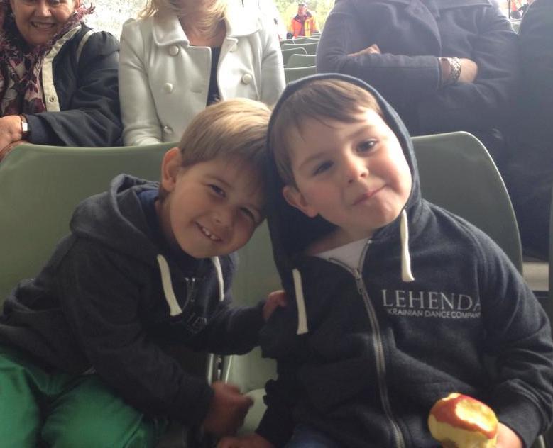 Harrasem & Emeliyan at Hopak in the Park Melbourne!