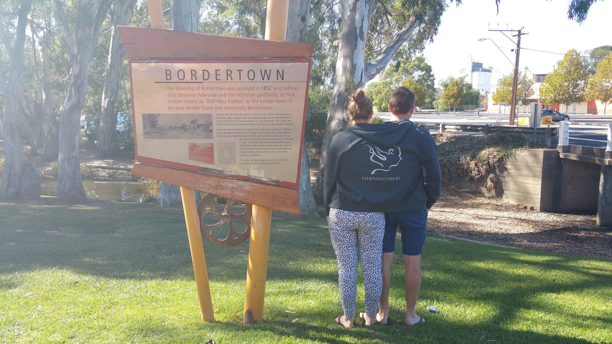 Larry & Adam in Bordertown South Australia