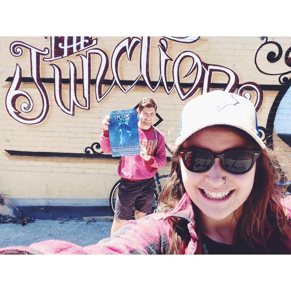 Adriana spreading the word about Kazka in Toronto!