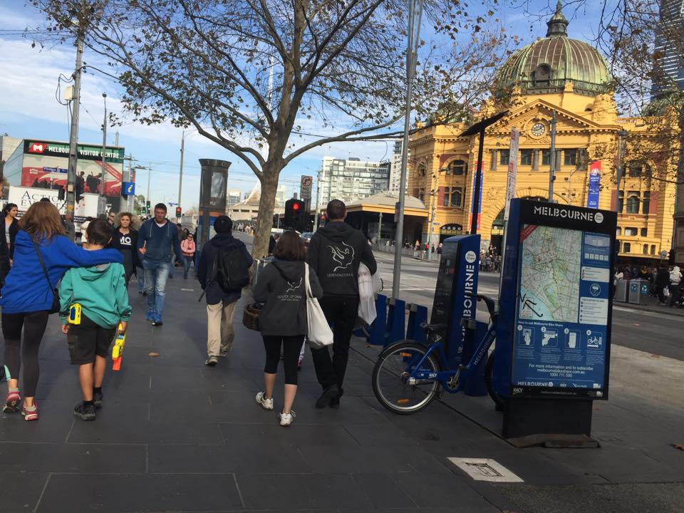 Uliana & Oleg in Melbourne CBD