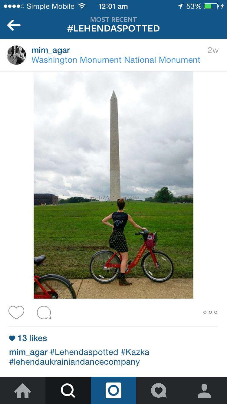 Imogen in Washington!