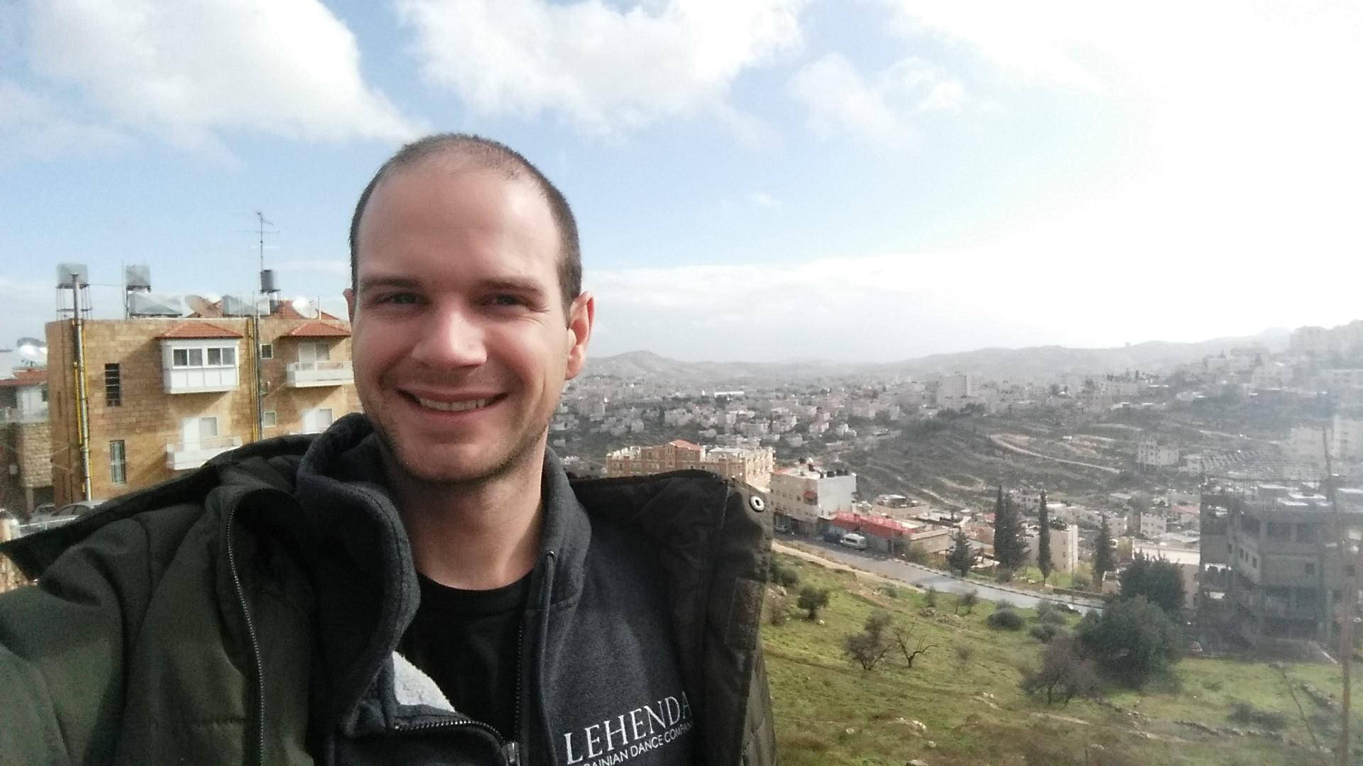 Anthony at Shephard's Fields in Bethlehem