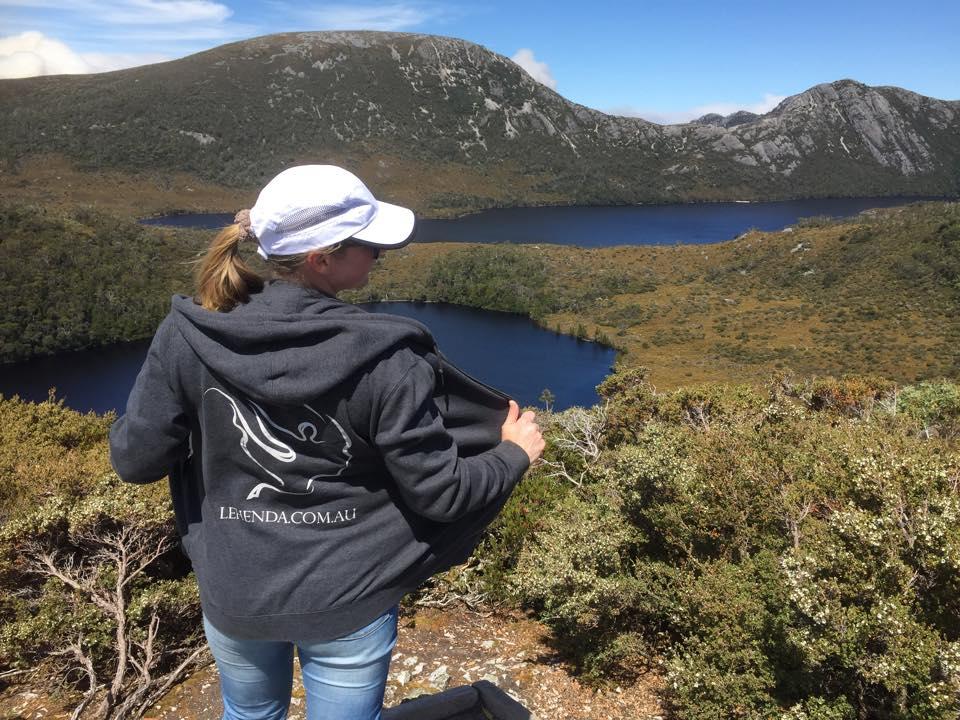 Dina at Craddle mountain national park, Tasmania