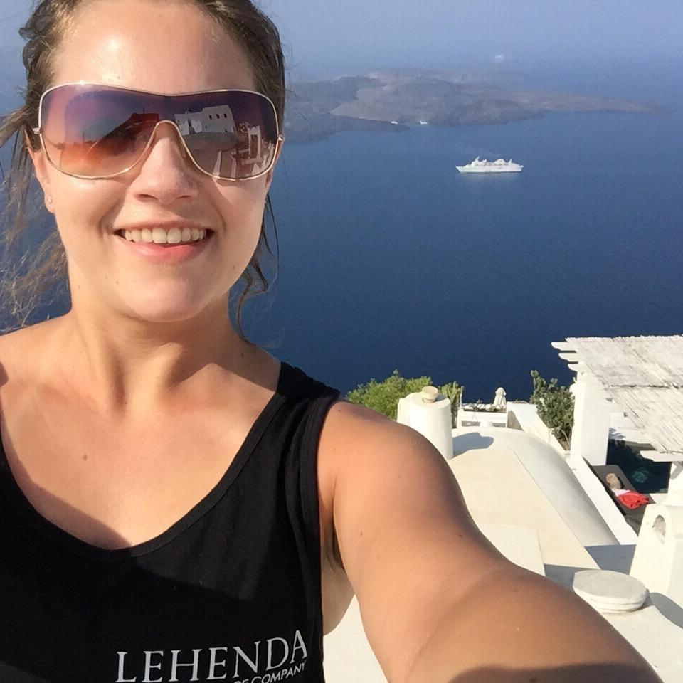Steph in Greece!