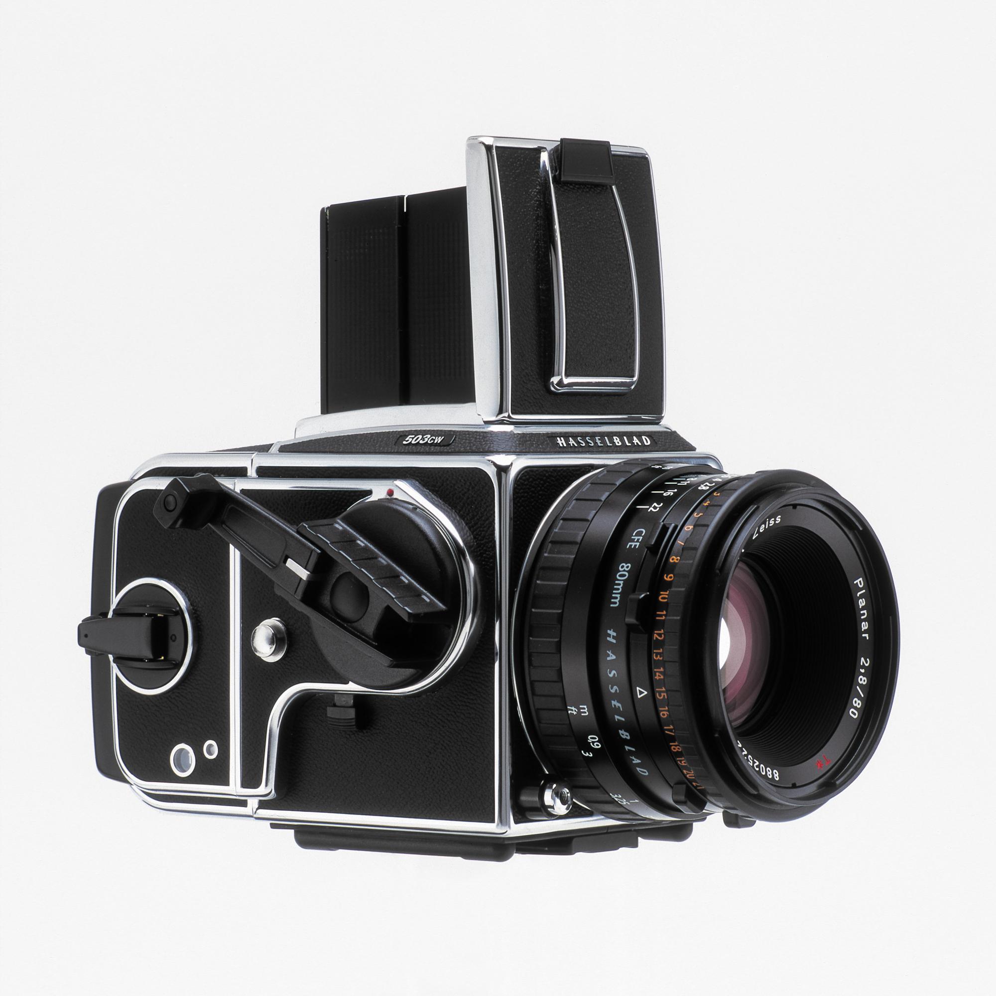 Nicht nur eine der besten Analogkameras, die je gebaut wurde, sondern auch eine Design-Ikone: die analoge Hasselblad