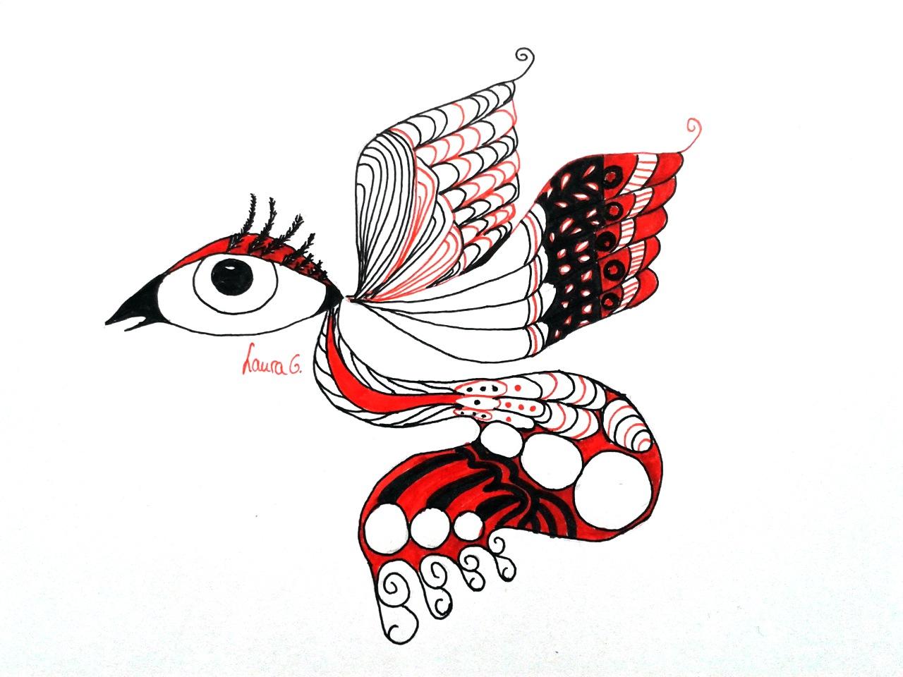 Lauras Zeichnung